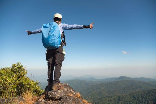 Active adult hiker Boulder Hernia Surgery